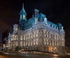 Montreal City Hall, Montreal, Quebec.