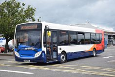 https://flic.kr/p/uTM9W2 | ald146 | Stagecoach Alexander Dennis Enviro 300 SK15 HBZ seen leaving the Falkirk factory on a test run 19/06/15.