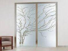 Resultado de imagen para vidrios esmerilados para puertas principales