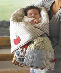 Quilting Digest Page Liked · January 6 · Edited ·     Baby's sleeping bag opens into a blanket or play mat. Great pattern to have on hand for baby gifts. Get the pattern here (the link in the yellow box at the end of the article): http://quiltingdigest.com/sleeping-bag-for-baby/