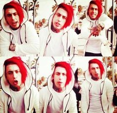 Falling In Reverse ~ Ronnie Radke ~ miss his red hair :( How To Be Indie, Thy Art Is Murder, Love Picture Quotes, Im Coming Home, Escape The Fate, Ronnie Radke, Blue October, Indie Scene, Bad Girls Club