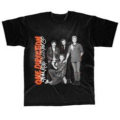 One Direction - On the Road Again Tour 2015 Kids Black T-Shirt - 12-13 Years