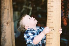 Handmade Wooden Growth Chart - Great way  of transferring ours from the wall.