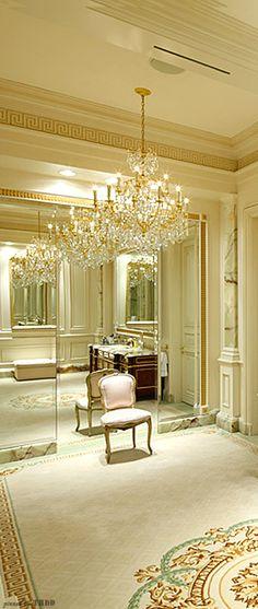 Powder Room, Beaux Arts, Sunset Blvd., ♔ Très Haute Design Diva ♔