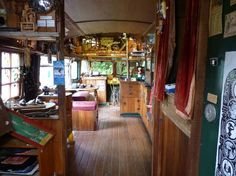 converted buses - Google Search