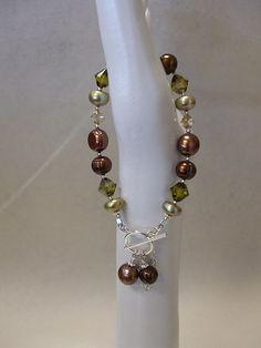 Swarovski Pearl Bracelet Email info@ucao.ca for availability Jewelry Ideas, Jewelry Design, Beaded Jewelry, Beaded Bracelets, Schmuck Design, Swarovski Pearls, Bracelet Designs, Pearl Bracelet, Beading