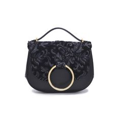 Carbotti 310 - Woman Leather Handbag tresor calfskin / jac. ciniglia flowers - http://carbotti.it/en/product/carbotti-310-woman-leather-handbag-tresor-calfskin-jac-ciniglia-flowers/