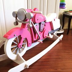 Rocking moto horse, fantastic toy for your kids.