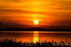 Sunset at Lake Lowell,  ID
