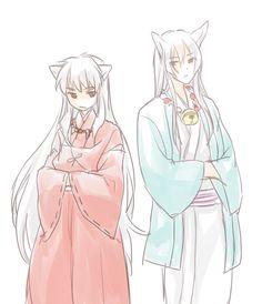 Crossover Inuyasha <3 and Kokkuri-san :3