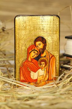 Icon of the Holy Family by Europeanicons on Etsy, $18.00