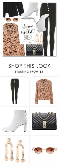 """Power Look"" by paculi ❤ liked on Polyvore featuring Topshop, casual, sporty, girlpower, Hoodies and powerlook"