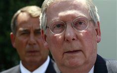 McConnell and Boehner Announce Plan to Take Health Insurance Away From 1 Million Americans