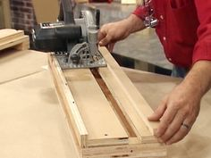 How To Make A Cross-cut Platform For Your Circular Saw