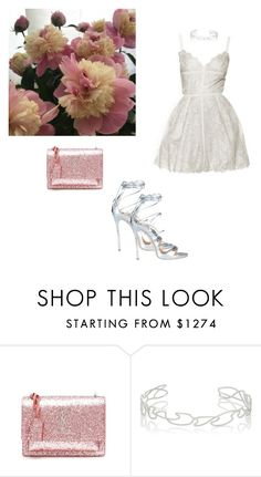 """cess"" by whosay ❤ liked on Polyvore featuring Yves Saint Laurent, Elie Saab, Repossi and Dsquared2"