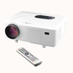 Hd Home LED Projector Cinema Theater Native Support Portable with Blue-ray Hdmi/usb/av/vga/component, Resolution 3000 Lumens Projector Reviews, Lcd Projector, Movie Projector, Projectors For Sale, Home Theater Projectors, Usb, Tv Built In, Photography Supplies, Best Home Theater
