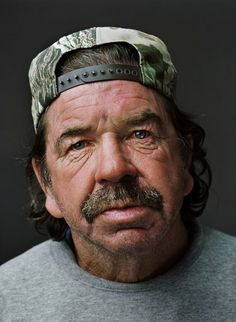'Down and Out in the South' – studio portraits of the homeless by photographer Jan Banning