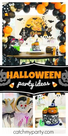 witch garland halloween bunting ghost garland Mustache Ghost orange black white halloween decor witch circle halloween garland