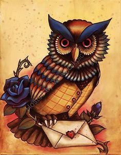 Owl love ~