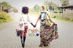 nyah und ich | African Fashion meets European Style