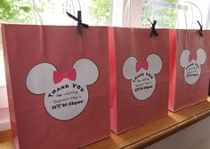 "Photo 1 of 59: Minnie Mouse BowTique / Birthday ""Scarlett's Minnie Mouse BOWtique Birthday Tea Party"" 