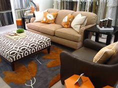 I need a comfy coffee table like this!