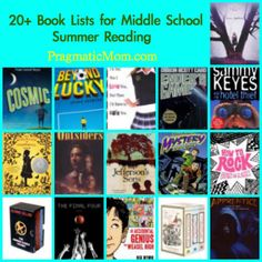 best books for middle school, 7th grade reading lists, 8th grade summer reading lists, 6th grade reading lists