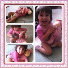 Mi hermosa nieta! Te amo BbPau
