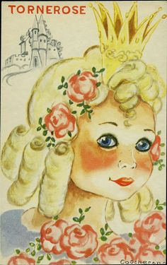 Barnekort Anne Eline Coucheron Tornerose Utg Mittet Curls, Princess Zelda, Fictional Characters, Art, Kunst, Art Background, Performing Arts, Fantasy Characters, Art Education Resources