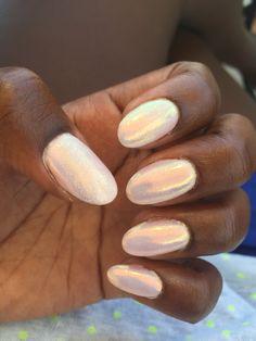 My mermaid nails!!! ^^