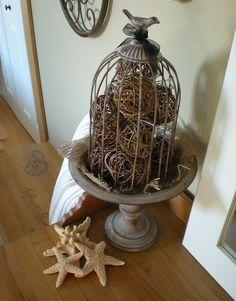 birdcage cloche nightlight