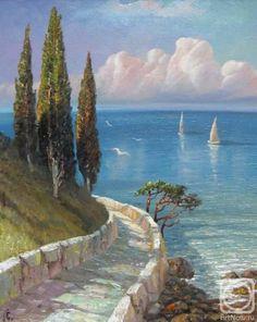 Watercolor Landscape, Landscape Art, Landscape Paintings, Watercolor Artists, Urban Landscape, Watercolor Painting, Seascape Paintings, Indian Paintings, Oil Paintings