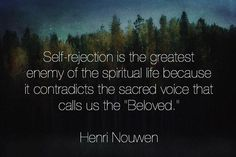 """Henri Nouwen is one of our favorite authors. If you're looking for a short and beautiful read try his """"Life of the Beloved"""". Photo cred: @_humanflower"""