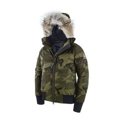 canada goose Raincoats Abstract Blue Camo