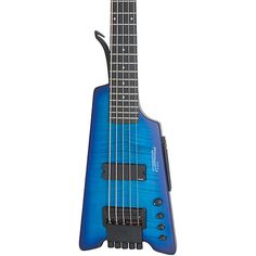 Steinberger Synapse XS-15FPA Custom 5-String Bass Satin Transparent Blue