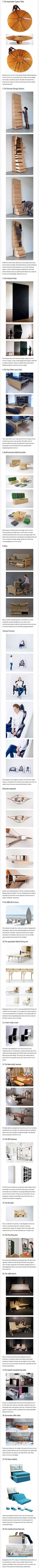 Here are some weird furniture designs that just might be genius.