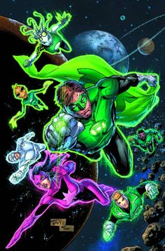 green lantern power gauntlet   Green Lantern: New Guardians – Written by Justin Jordan, Illustrated ...