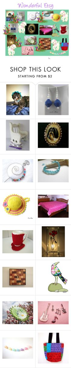 """""""Wonderful Etsy"""" by cozeequilts ❤ liked on Polyvore"""