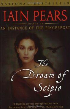 The Dream of Scipio by Iain Pears http://smile.amazon.com/dp/1573229865/ref=cm_sw_r_pi_dp_Dqvrxb1BS79MZ