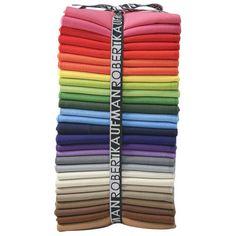 Kona Cotton - New Colors 2012 Fat Quarter Bundle Cotton Quilting Fabric, Fabric Art, Dressmaking Fabric, Kona Cotton, Fabulous Fabrics, Sewing Projects, Quilts, Pattern, Robert Kaufman
