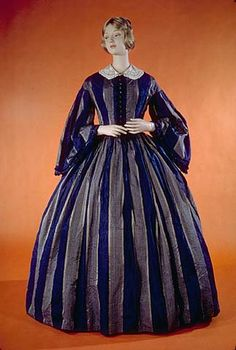 1861 dress (found here: http://americanhistory.si.edu/collections/costume/object.cfm?recordnumber=360423)