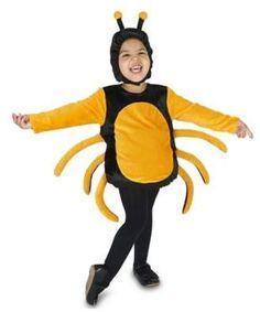 ca68b52c11 Black and Orange Spider Size 2-4T Child s Halloween Costume  adorable  costume