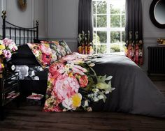 GAVENO CAVAILA(r) Designer duvet cover & pillowcase set This is a stylish pattern that will light up any bedroom. You will recieve 1 duvet set & 2 pillowcases other than single set which has 1 pillowcase. Duvet Sets, Duvet Cover Sets, Cover Pillow, Bed Covers, Pillow Cases, Damask Bedding, Black Bedding, Pink Bedding, Camo Bedding