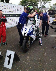 Gary Johnson win tt 2014 supersport race on Triumph