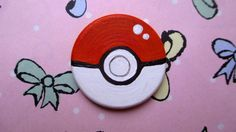 Cute Pokeball Pin/Brooch inspired by Pokemon
