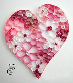 25 Paper Heart Project Tutorials