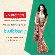 Are you following us on #Twitter? Never Miss a single update of #R.S.Brothers on Twitter. If not following! Then click here to find us -www.twitter.com/RSBrothersIndia