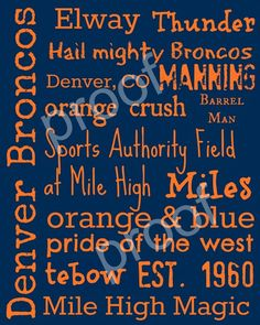 Denver Broncos - I would delete Tebow  gladly put Manning in it's spot!!!