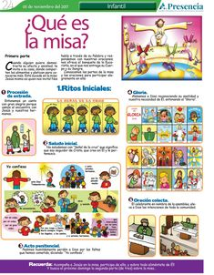 Pasos de la misa Catholic Theology, Catholic Catechism, Catholic Mass, Catholic School, Catholic Crafts, Religion Catolica, Bless The Lord, Christian Faith, Sunday School