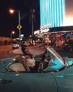 Kendall Jenner - 1957 Corvette